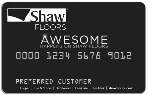 Special financing available on the Shaw card. Subject to credit appoval